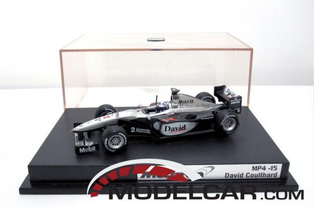 Hot Wheels McLaren MP4 Silver