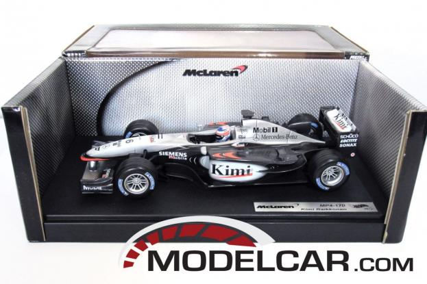 Hot Wheels McLaren MP4 Silver