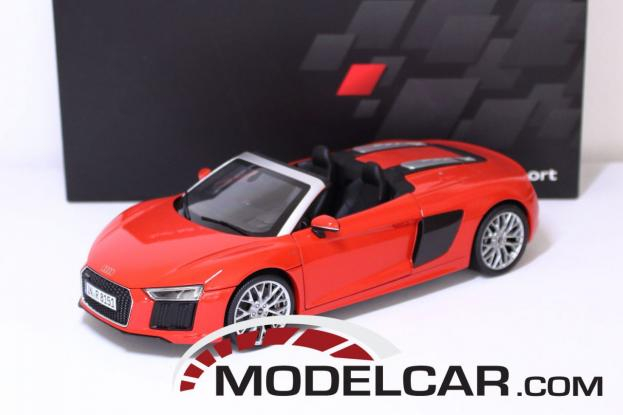 iScale Audi R8 Spyder V10 4S Red