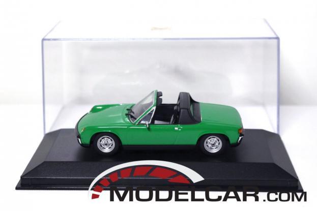 Minichamps Porsche 914 Green