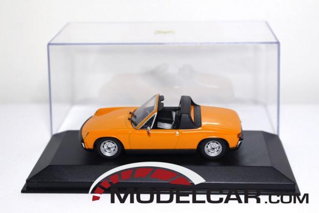 Minichamps Porsche 914 Orange