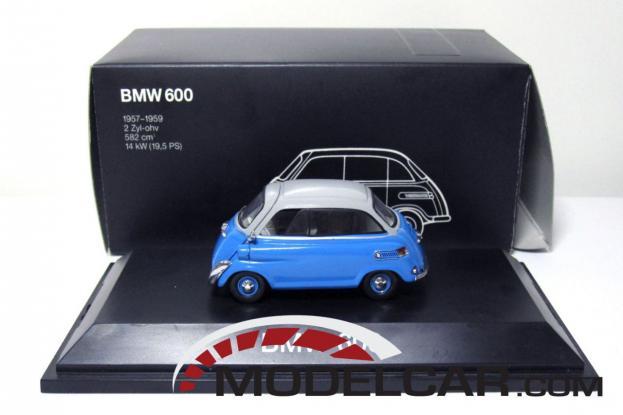 Schuco BMW 600 Blue