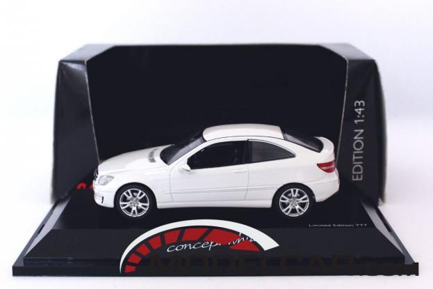 Schuco Mercedes CLC W203 White