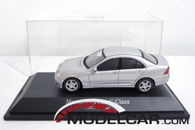 Schuco Mercedes C-Class W203 Silver