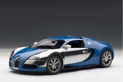 AUTOart Bugatti EB Veyron 16.4 L Edition Centenaire 2009 French Blue 70956