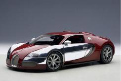 AUTOart Bugatti EB Veyron 16.4 L Edition Centenaire 2009 Italian Red 70957