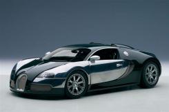 AUTOart Bugatti EB Veyron 16.4 L Edition Centenaire 2009 Racing Green 70958