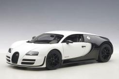 AUTOart Bugatti Veyron Super Sport Pur Blanc Edition Black White 70933