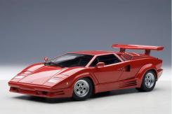 AUTOart Lamborghini Countach 25th Anniversary Edition Red 74534