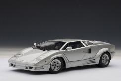 AUTOart Lamborghini Countach 25th Anniversary Edition Silver 74536