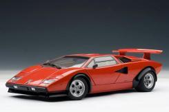 AUTOart Lamborghini Countach LP500S Walter Wolf Edition Red 74651