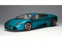 AUTOart Lamborghini Murcielago 40th Anniversary Edition 2001 Artemis Green Metallic 12074