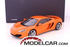 Autoart McLaren MP4-12C Orange