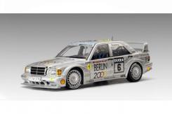 AUTOart Mercedes-Benz 190 E 2.5-16 EVO 2 DTM Berlin 2000 6 1992 silver 89231