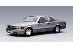 AUTOart Mercedes-Benz 500 SEC Coupe W126 1986 Silver 76212