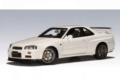Autoart Nissan Skyline R34 GTR Wit