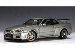 Autoart Nissan Skyline GT-R R34 V-Spec Zilver