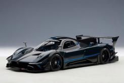 AUTOart Pagani Zonda Revolution Blue Black Carbon Fiber 78273