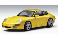 Autoart Porsche 911 997 Carrera S Yellow