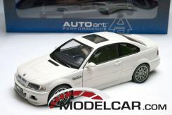 Autoart BMW M3 coupe e46 Wit