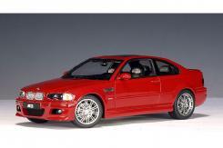 Autoart BMW M3 coupe e46 Rood
