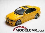Autoart BMW M3 coupe e46 Geel