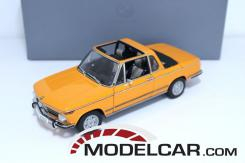 Autoart BMW 2002 Baur convertible Orange
