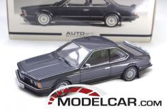 Autoart BMW 635 CSI e24 Schwarz