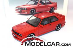 Autoart BMW M3 coupe e30 Red