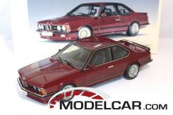 Autoart BMW M635 CSI e24 Red