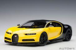 Autoart Bugatti Chiron Yellow
