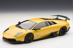 Autoart Lamborghini Murcielago LP670-4 SV 2009 Giallo Evros 74616