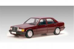 Autoart Mercedes-Benz 190E 2.0L W201 1990 Barolo Red 76135