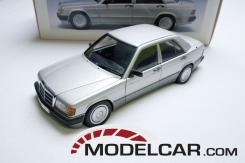 Autoart Mercedes-Benz 190E 2.0L W201 1990 Brillantsilver Metallic 76134