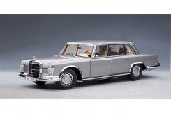 Autoart Mercedes-Benz 600 SWB W100 Silver 76191