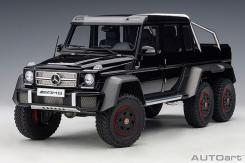 Autoart Mercedes Benz G63 AMG 6x6 W463 Gloss Black 76306