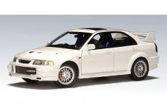 Autoart Mitsubishi Lancer Evolution VI White