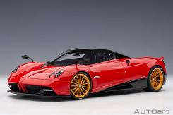 Autoart Pagani Huayra Roadster rosso monza red 78287