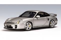 Autoart Porsche 911 996 Turbo Silver 77832
