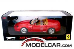 Hot Wheels Elite Ferrari 550 Barchetta Pininfarina Red