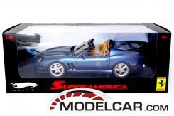 Hot Wheels Elite Ferrari 575 Superamerica blue