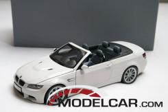 Kyosho BMW M3 convertible e93 Wit
