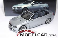 Kyosho BMW M3 convertible e93 Silver