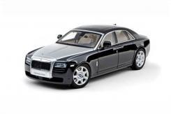 Kyosho Rolls-Royce Ghost Diamond Black Silver Hood 08801BK