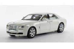 Kyosho Rolls-Royce Ghost SWB English White II Moccasin Interior 08801EW