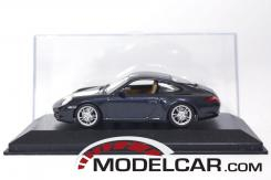 Minichamps Porsche 911 997 Carrera Blue