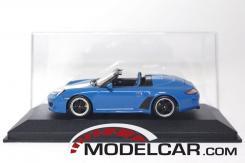 Minichamps Porsche 911 997 Speedster Azul
