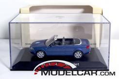 Norev Audi A4 convertible B6 Blue