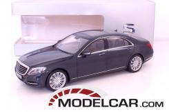 Norev Mercedes-Benz S-Class W222 blue anthracite dealer edition