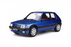 Ottomobile Peugeot 205 GTI 1.9 1989 Bleu Miami G041